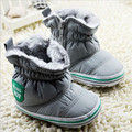 Baby Boy Winter Warm Shoes Winter baby Newborn Soft Sole Cotton Snow Boots Toddlers First Walkers Infants Sneakers Solid Shoes