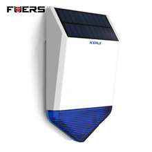 Fuers Wireless Outdoor Solar siren  For G19 G18 8218G W2 GSM Alarm System