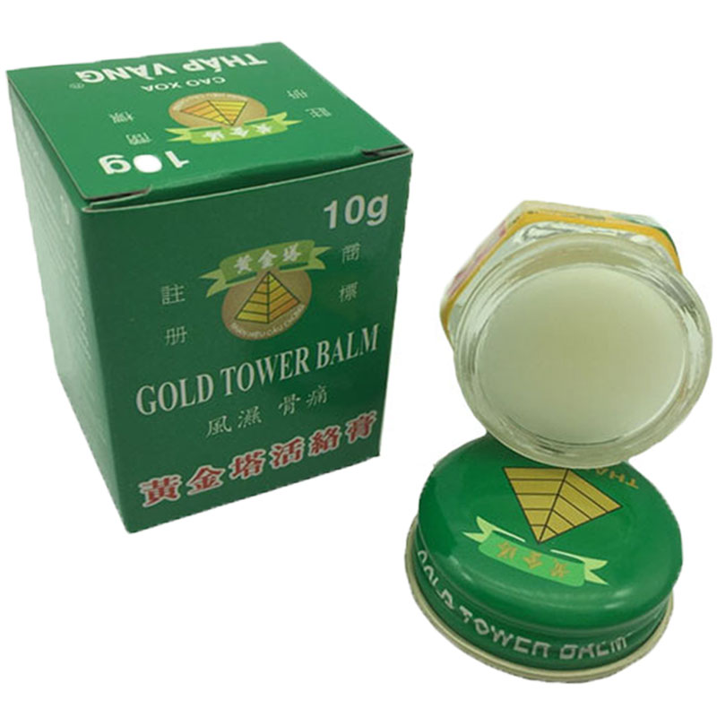 Vietnam Gold Tower Balm Cream Treatment Of Shoulder, Neck, Head, Abdomen, Waist, Hand And Foot Pain.Relax The Whole Body