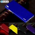 Песочного цвета Жесткий Пластик основа 5.0for huawei P7 чехол для huawei Ascend P7 сотовый телефон Обложка чехол - фото