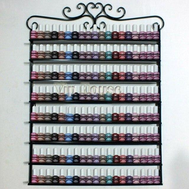 8 capas de hierro rack esmalte de uñas aceite de clavo estante de la ...