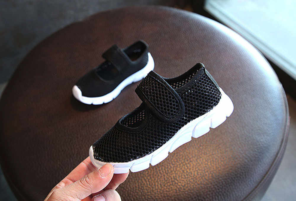ילדי נעלי ילדים בני בנות תינוק סגור הבוהן סנדלי ספורט מזדמנים רשת נעלי ספורט חוף נעלי Chaussure Enfant סניקרס