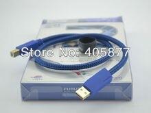 Furutech GT2 High performance Audio MINI-USB-B-STECKER-KABEL (A nach B) usb-kabel 0,6 Mt HIFI USB Audio Kabel