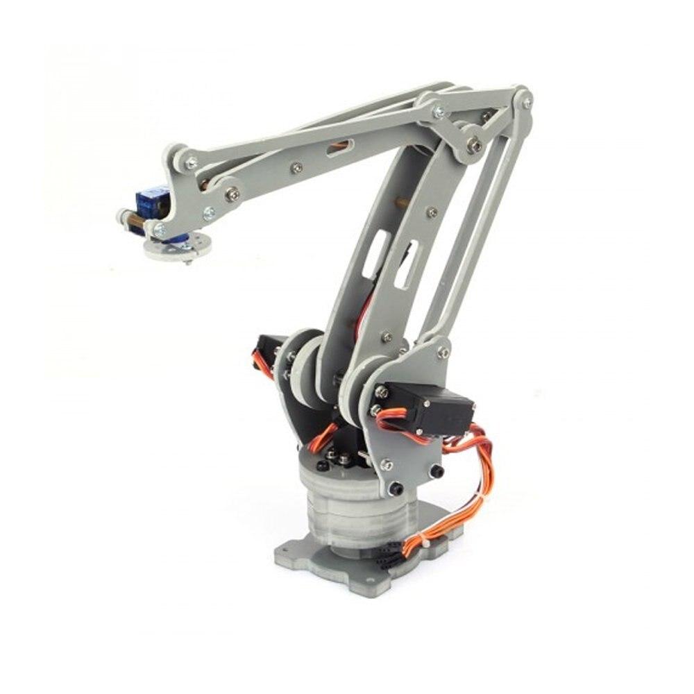 Irb460 4 แกนอุตสาหกรรมหุ่นยนต์ DIY Control Palletizing หุ่นยนต์สำหรับ Arduino UNO MEGA2560 ที่มีแหล่งจ่ายไฟ + controller-ใน ชิ้นส่วนและอุปกรณ์เสริม จาก ของเล่นและงานอดิเรก บน   3