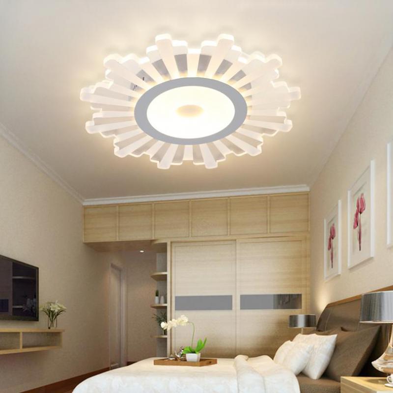 Ceiling LED sunflower lamp for kids Office light Study room led reading Light Home lighting Kitchen Led Ceiling Lights luminaria|light home|ceiling lights|light kitchen - title=