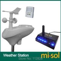 MISOL/IP OBSERVER Солнечная беспроводная Интернет дистанционный мониторинг метеостанция