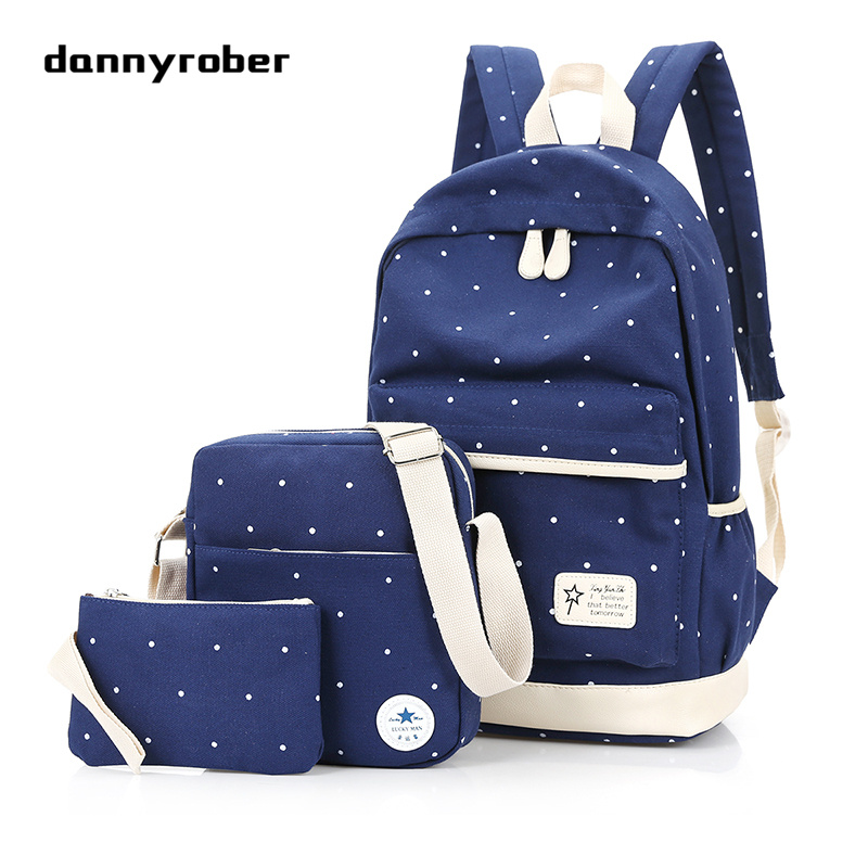Fashion Backpacks For Men And Women Solid Preppy Style Soft Back Pack Unisex School Bags Big Capicity Canvas Bag F98 aosbos fashion portable insulated canvas lunch bag thermal food picnic lunch bags for women kids men cooler lunch box bag tote