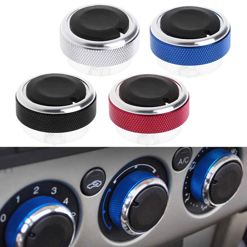 3PCS Air Conditioning heat control Switch knob AC Knob case For Ford Focus 2 MK2 3 MK3 Sedan Hatchback Mondeo auto accessories
