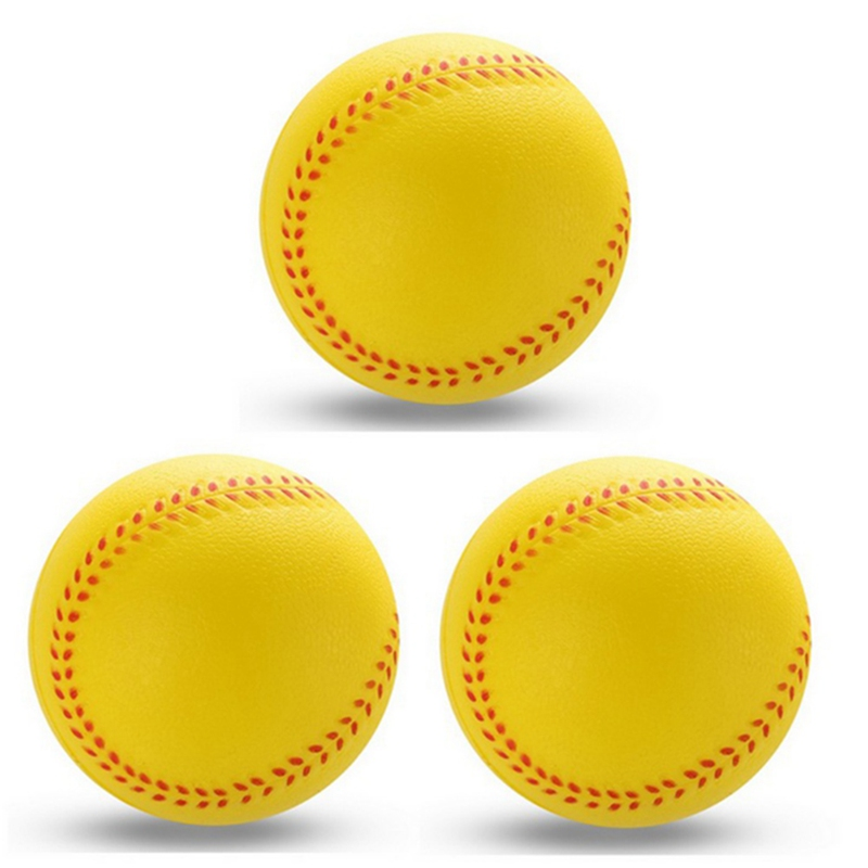 1 Pcs Universal Handmade Baseballs PVC&PU Upper Hard & Soft Baseball Balls Softball Ball Training Exercise Baseball Balls