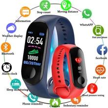M3 Color IPS Screen Smart Sport Fitness Bracelet IP68 Waterproof Blood Pressure