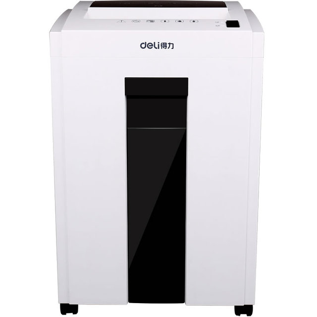 High Security and Shredding ability Silent design Cut 2*6 mm Paper, CD, and Credit Card shredder Office supplies deli 9954
