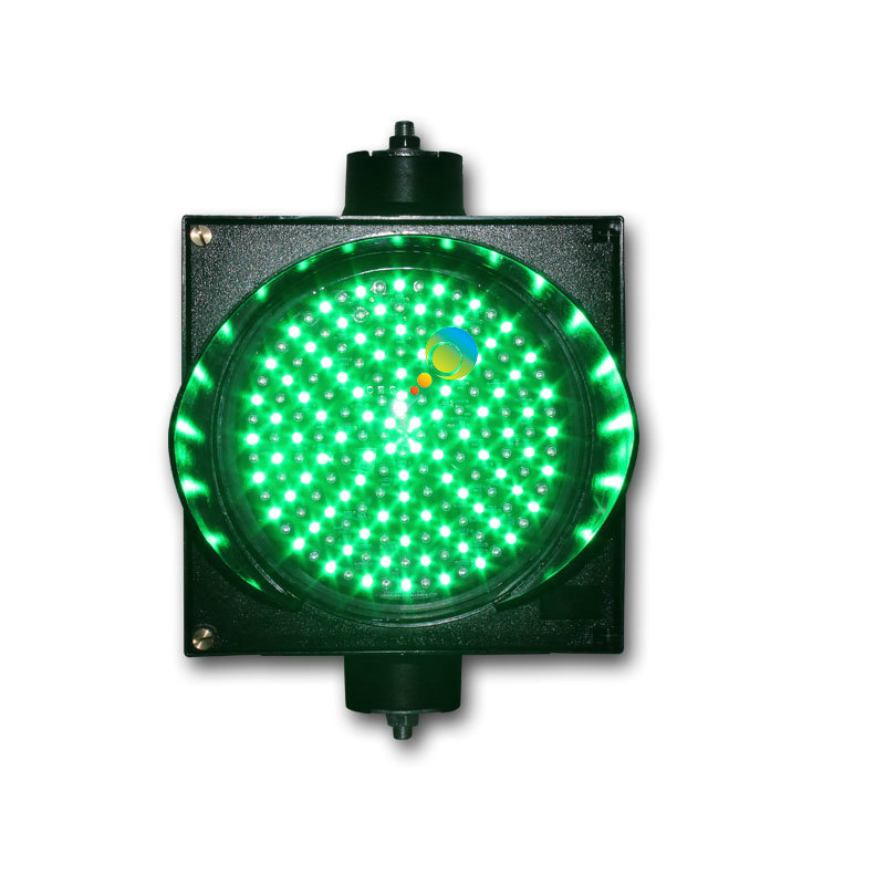 New Design Hot Selling Epistar LED  Green Single Light 200mm  LED Traffic Signal Light