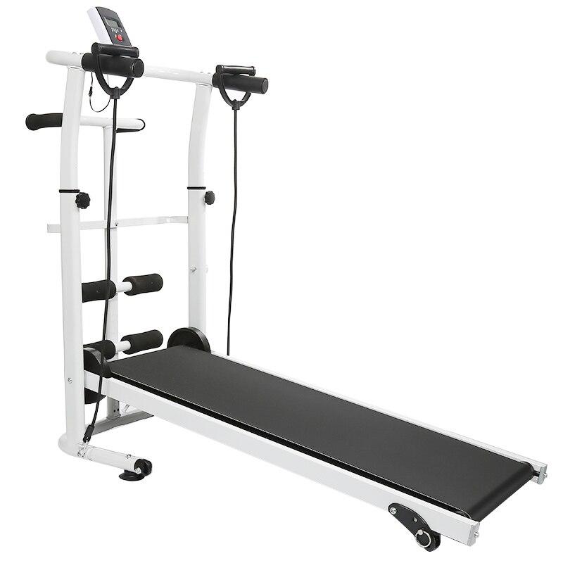 2019 nouveau aucun tapis roulant électrique pliant mécanique course à pied formation 3 en 1 Fitness tapis roulant Sport à domicile équipement de Fitness HWC - 6