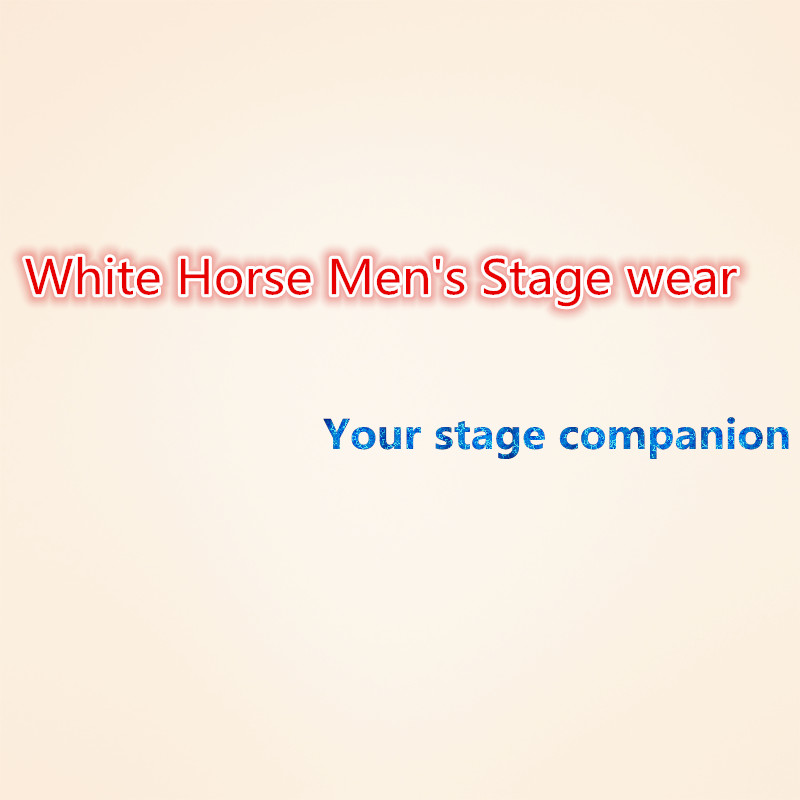 Vyriški blizgantys sidabro sidabriniai kostiumai Kostiumai Homme - Vyriški drabužiai - Nuotrauka 6