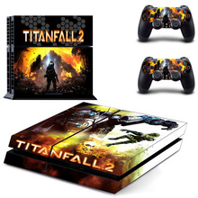 Titanfall 2 PS4 Skin Sticker Decal Vinyl For Sony PS4 PlayStation 4 Console and 2 Controller Stickers