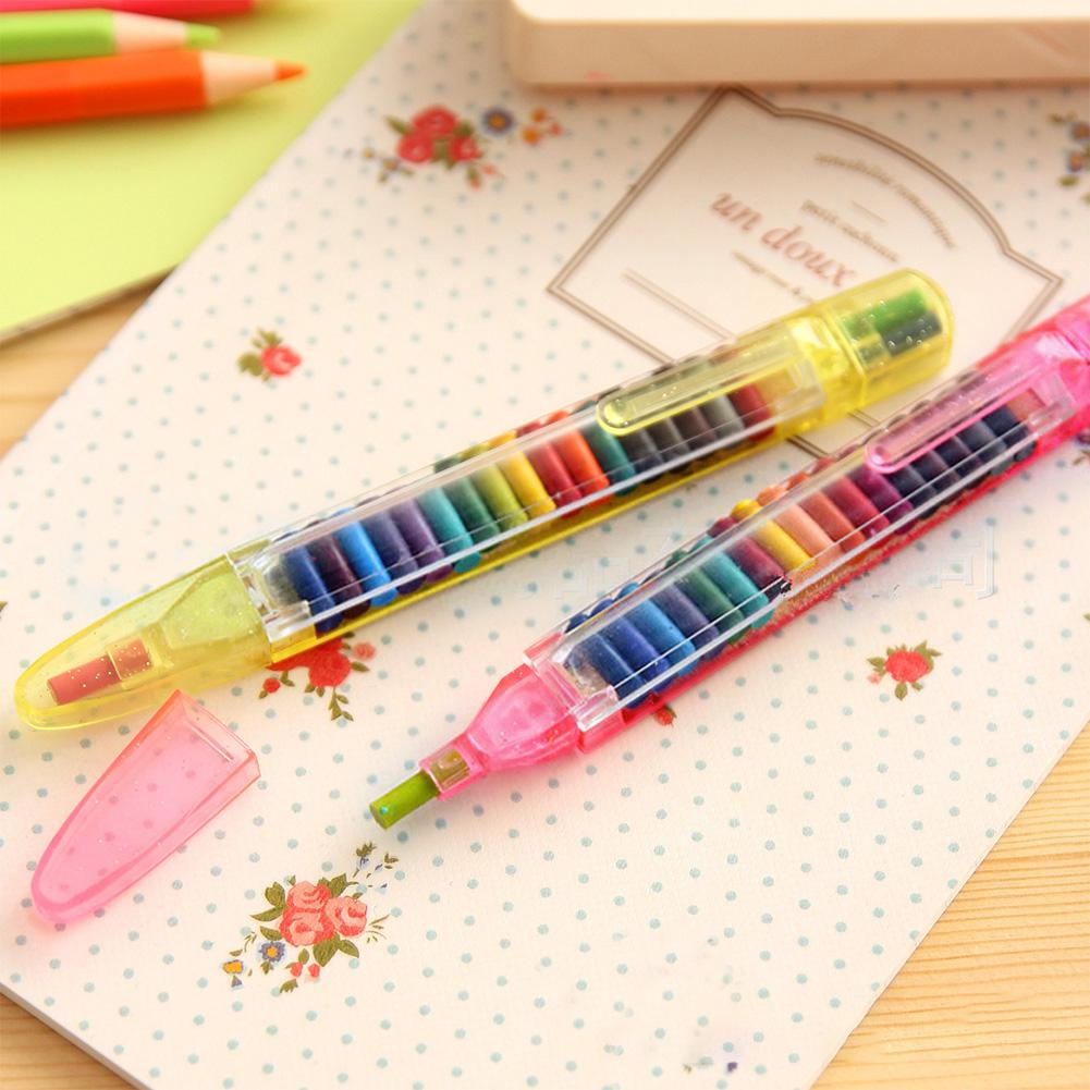 Crayon Set For Kids Students Drawing Painting School Supplies