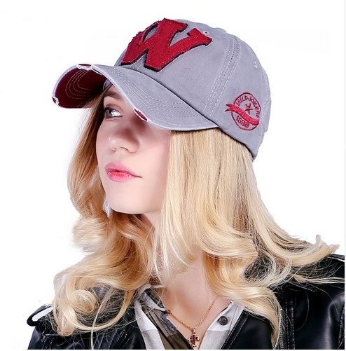 Cotton Embroidery Letter W Baseball Cap Snapback Caps Sports Hat Distressed  Wearing Style Hat For Men Women-in Baseball Caps from Apparel Accessories  on ... 2fbe1487acd