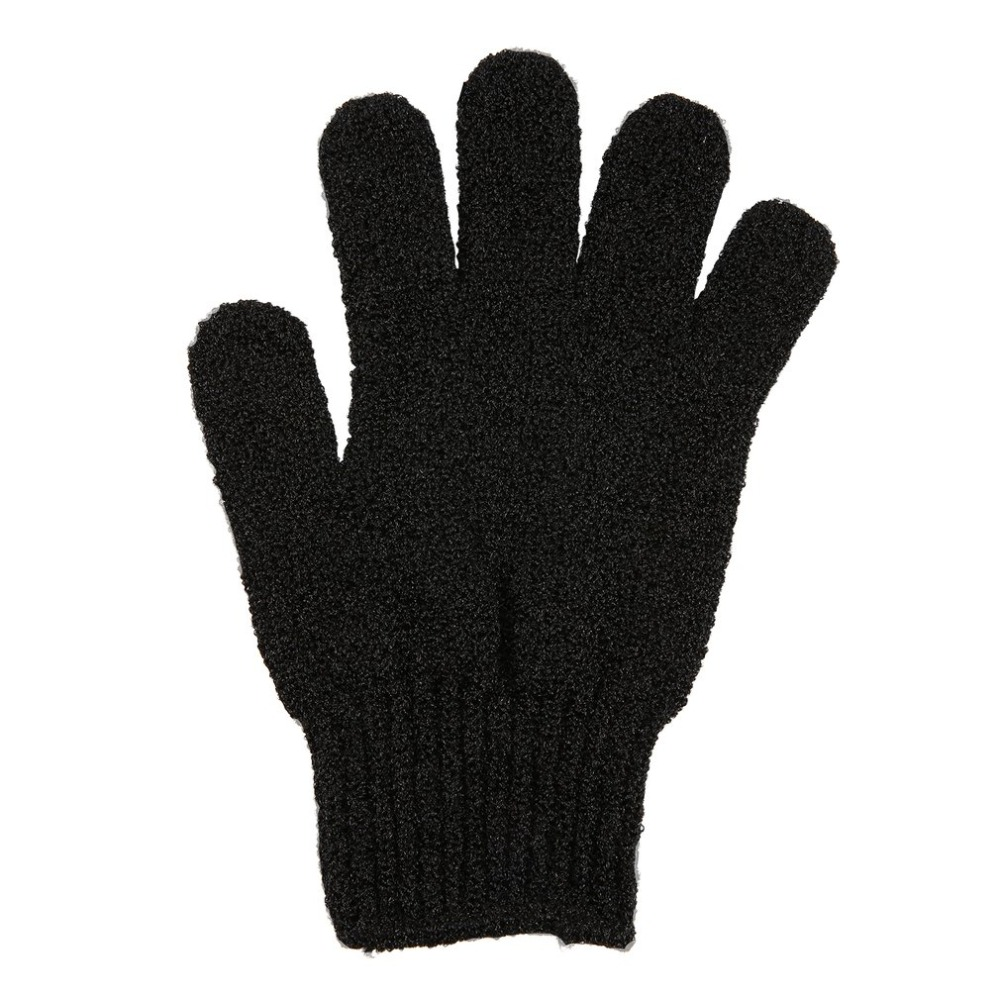 Black Exfoliating Gloves Full Body Scrub Dead Cells Soft Skin Blood Circulation Shower Bath Spa Exfoliation Accessories