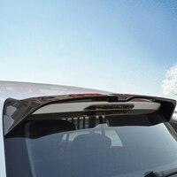 Настоящее углеродного волокна 1 шт. задний багажник спойлер хвост крыло для VW Volkswagen Golf 7 Mk7 2014 2018 автомобиль Стайлинг Аксессуары