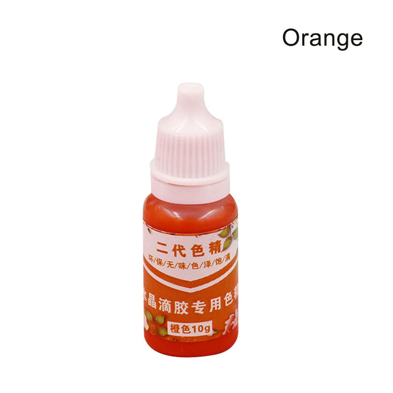 High Concentration UV Resin Liquid Pearl Color Dye Pigment Epoxy For DIY Jewelry Making Crafts Store