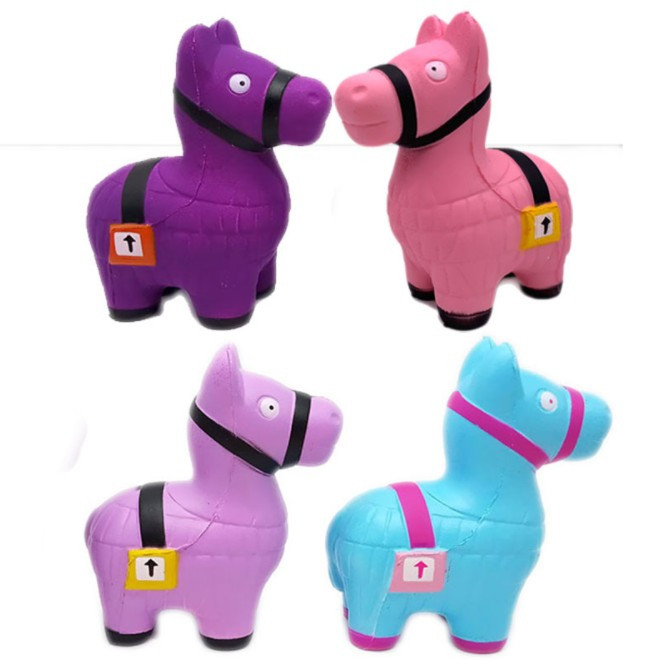 Sheep Squishy Cute Alpaca Galaxy Super Slow Rising Scented Fun Animal Toys Stress Reliever Hand Squeeze Toy YH1707