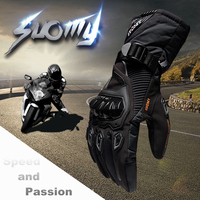 2017 Winter Warm Motorcycle Gloves 100 Waterproof Windproof Guantes Moto Luvas Touch Screen Motosiklet Eldiveni Protective