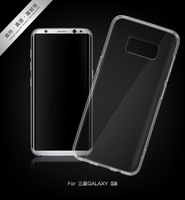 Wholesale 50 Pieces Ultra thin transparent Soft TPU case For Samsung Galaxy S8 S8Plus Protective back cover for samsung s8 plus