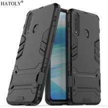 Cover Vivo Z5x Case Silicone Rubber Robot Armor PC Shell Fundas Protective Hard Back for Phone