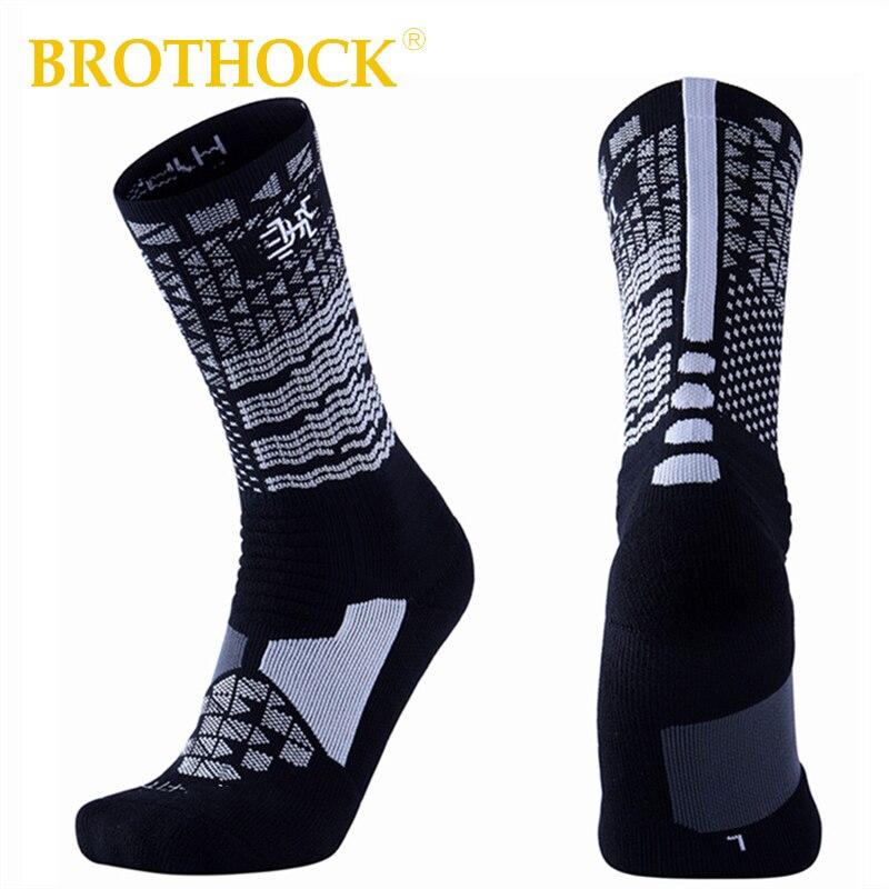 Basketball Sweat Towels: Brothock High Tube James Elite Basketball Socks Long Tube