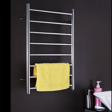 Light Polish Stainless Steel 304 Electric Wall Mounted Towel Warmer,Bathroom Accessories Racks,Heated Towel Rail TW-RD4 home appliance 304 stainless steel bathroom heater towel racks electric bath accessory towel holder rail decoration icd60049