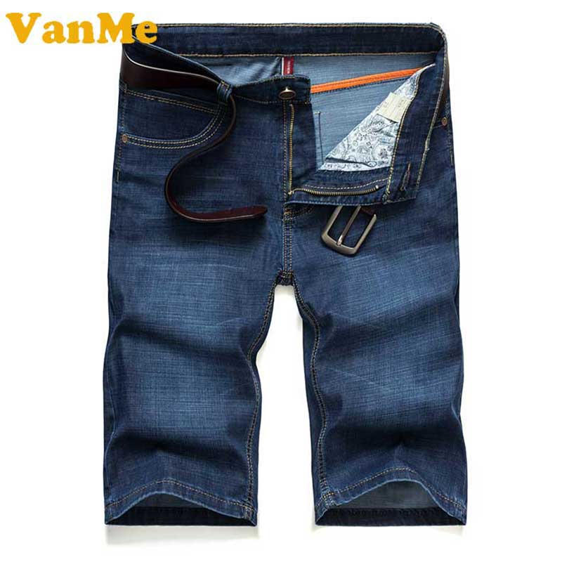 2017 Summer new men s shorts Pleasantly cool Ventilation Ultrathin Solid color simple Design mens jeans