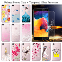 For Coque Huawei P8 Lite Case Silicone TPU Cover Huawei Ascend P8 Mini P8lite ALE-L21 ALE-L04 ale l21 Cases + Tempered Glass m215hge l21