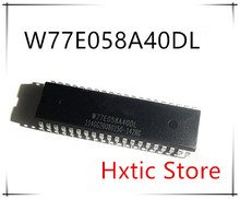 10PCS/LOT New and original W77E058A40DL DIP-40