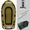 2 Person fishing boat 218*110*36cm inflatable boat,fishing boat,kayak,repair patch, include paddle, pump, carry bag optional