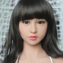 Top quality #33head for TPE sex doll, full silicone love doll heads, oral sex products