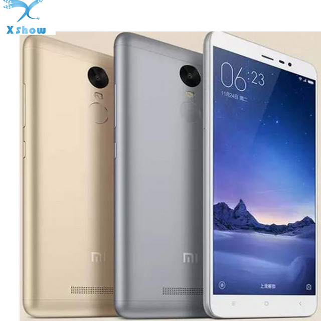 Original Xiaomi Redmi Redrice Note 3 pro 5.5 Inch 3G Ram 32G Rom 1080p HD 5MP 16MP Camera 4000mAh Freeship