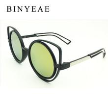 BINYEAE 2017 New Women Sunglasses Vintage Cat Eye Sun glasses fashion Eyeglasses Frames Mirror Shades Sexy SG005