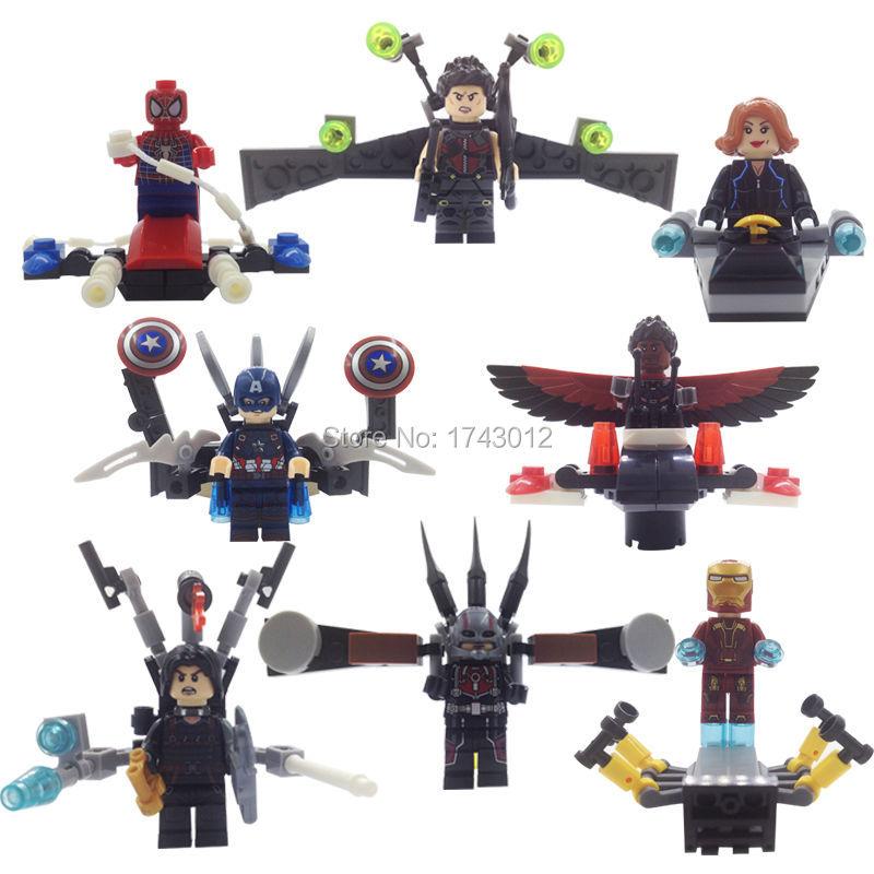 SY296 Wholesale Marvel Super Heroes The Avengers Figures Single Loki Building Blocks Model Toys For Children
