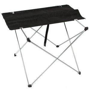 Image 2 - Draagbare Opvouwbare Klaptafel 4 naar 6 Mensen Bureau Camping BBQ Wandelen Outdoor Picknick 7075 Aluminium Ultra licht tafel