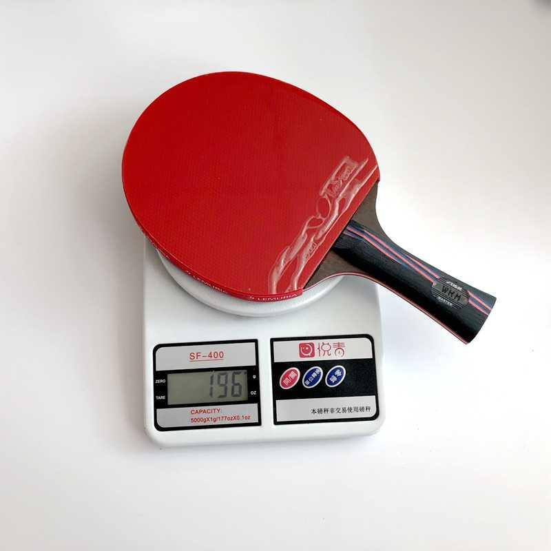 Lemuria carbon fiber 7.6 Carbo 13 layers 7.6 WRB CR senior Blue sponge Table tennis rackets double face pimples-in rubbers