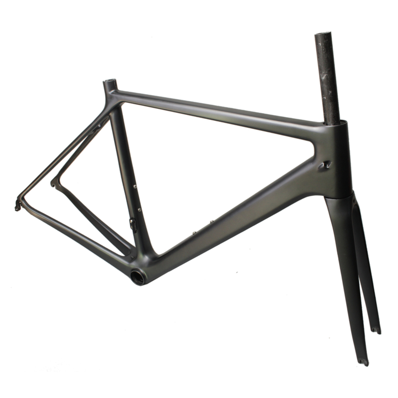 EC90 Carbon Road Bike Frame Full Carbon Fiber Highway Bicycle Rack Ultra-light BB86 Bicycle Frame+Fork