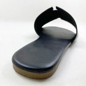 """Image 3 - 新 2020 ビッグサイズ 6   11 女性のサンダルの靴夏のファッションスリッパ女性 """"s フリップをプトップ品質カジュアルフラッツ"""