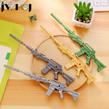 1 x Creative weapons Boeing rifle neutral gel pen kawaii stationery office school Writing supplies stationery child's toy gifts(China)