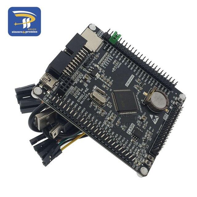 STM32F407VET6 płytka rozwojowa Cortex-M4 STM32 minimalna płytka edukacyjna ARM płyta główna + 3.2 cala LCD TFT z ekranem dotykowym