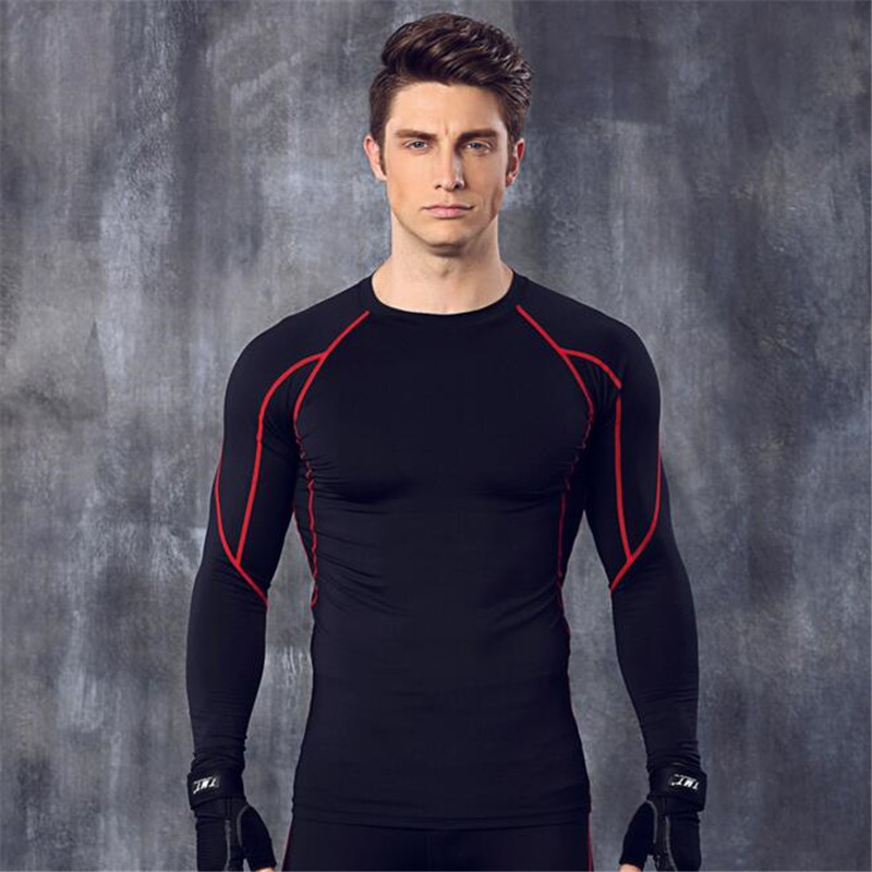 NEW Fashion Men's Clothing Long Sleeve,Men's Breathable Body Sculpting Clothes,Men's Tops Underwear