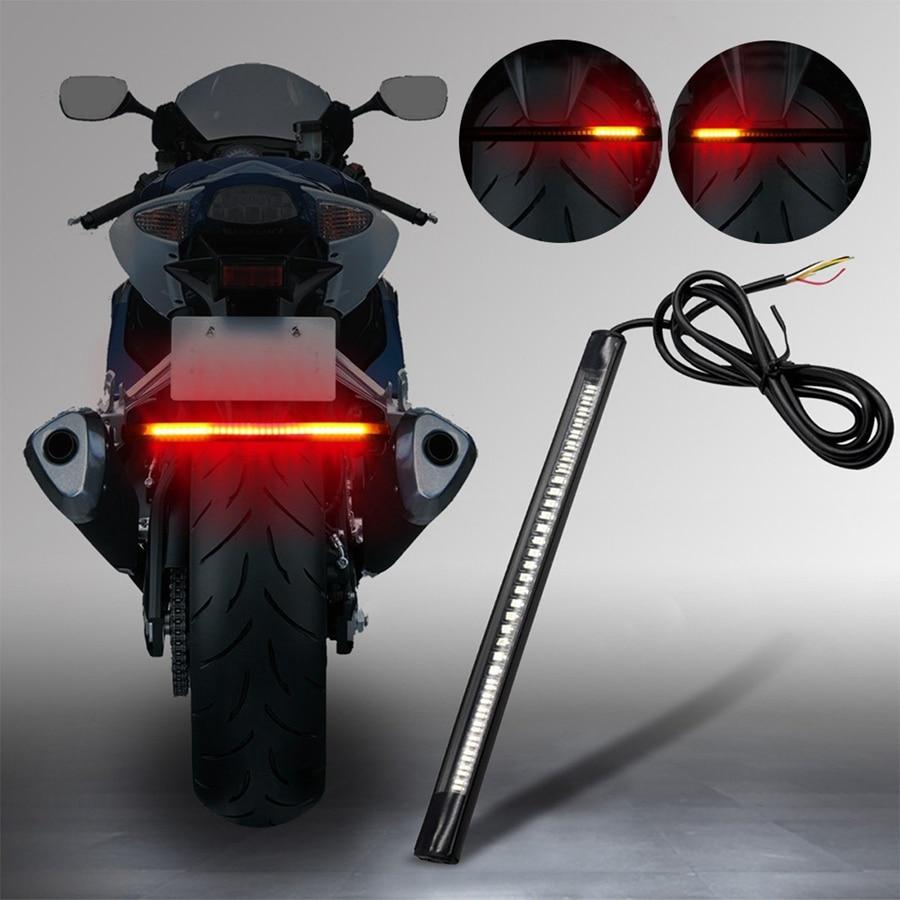 Us 3 84 23 Off Lonleap Universal Motor Break Light Motorcycle Back Lamp Lights Kit Warning Signal Led Auto Taillight Breaking 1 Piece In
