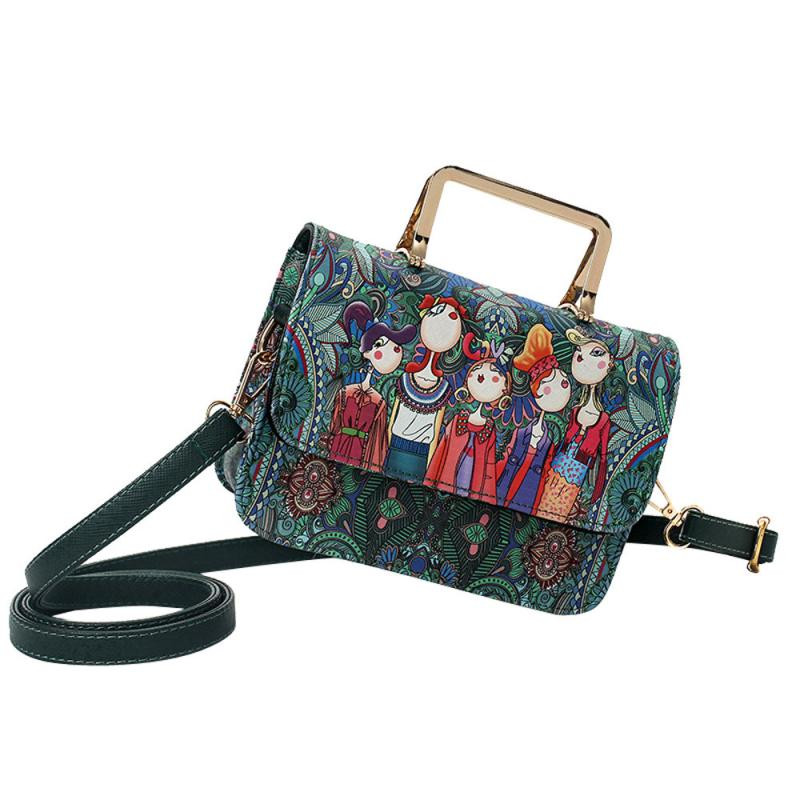 Wholesale Forest Party Messeger Handbags Women Retro Messeger Handbag Female Vintage Crossbody Bags Ladies Crossbody Bag #24