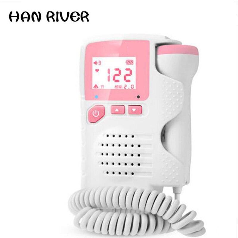 No radiation Doppler household test fetal fetal movement monitoring pregnant women listening to fetal monitor monitor stethoscop buy radiation monitor