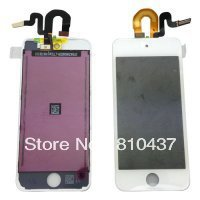 OEM LCD Screen and Digitizer Assembly with Frame Display Assembly for ipod touch 5 - White