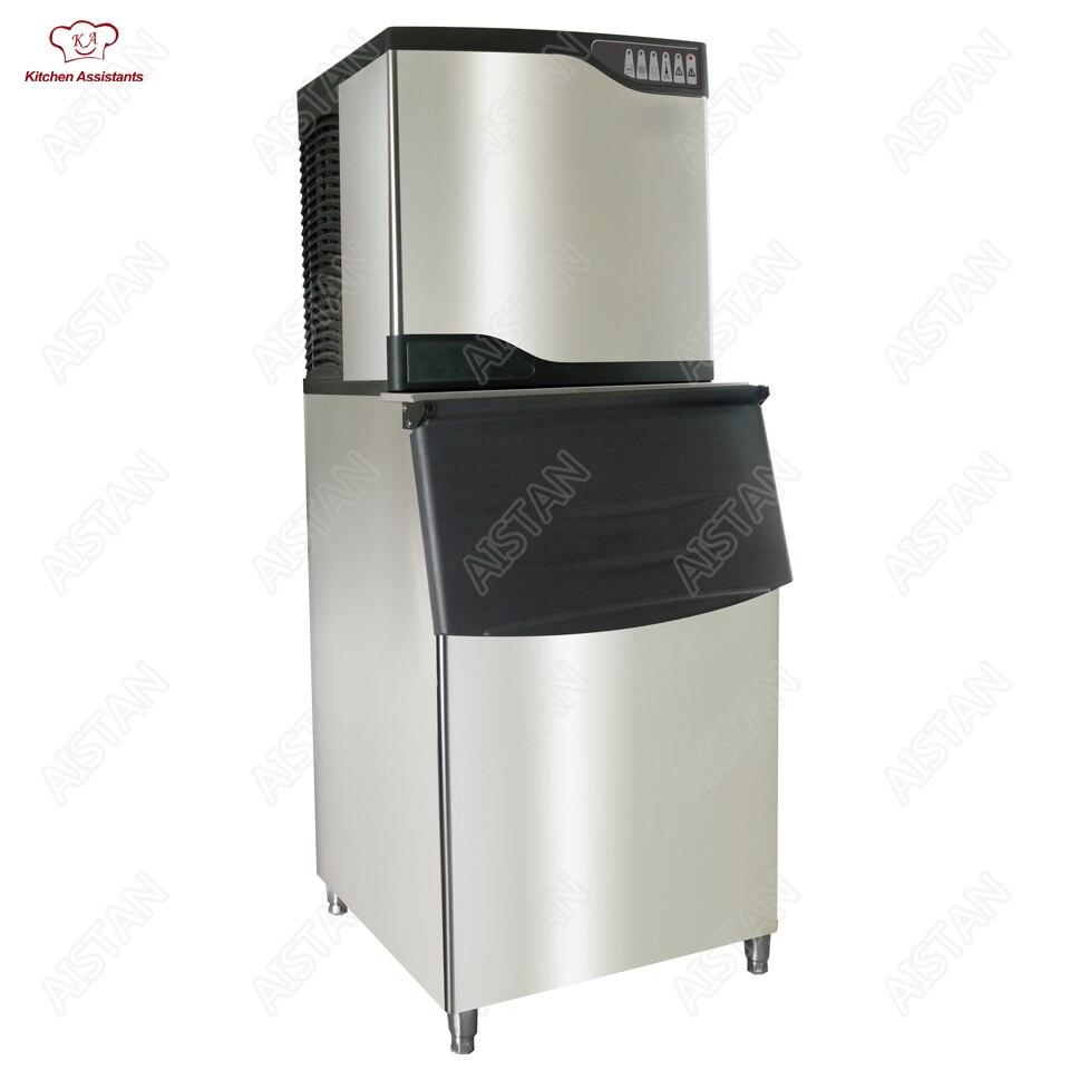 Großgeräte Cube Eis Maschine Kühlschränke Und Gefriergeräte Die Meisten Willkommen Professionelle Edelstahl Eiswürfel Maschine